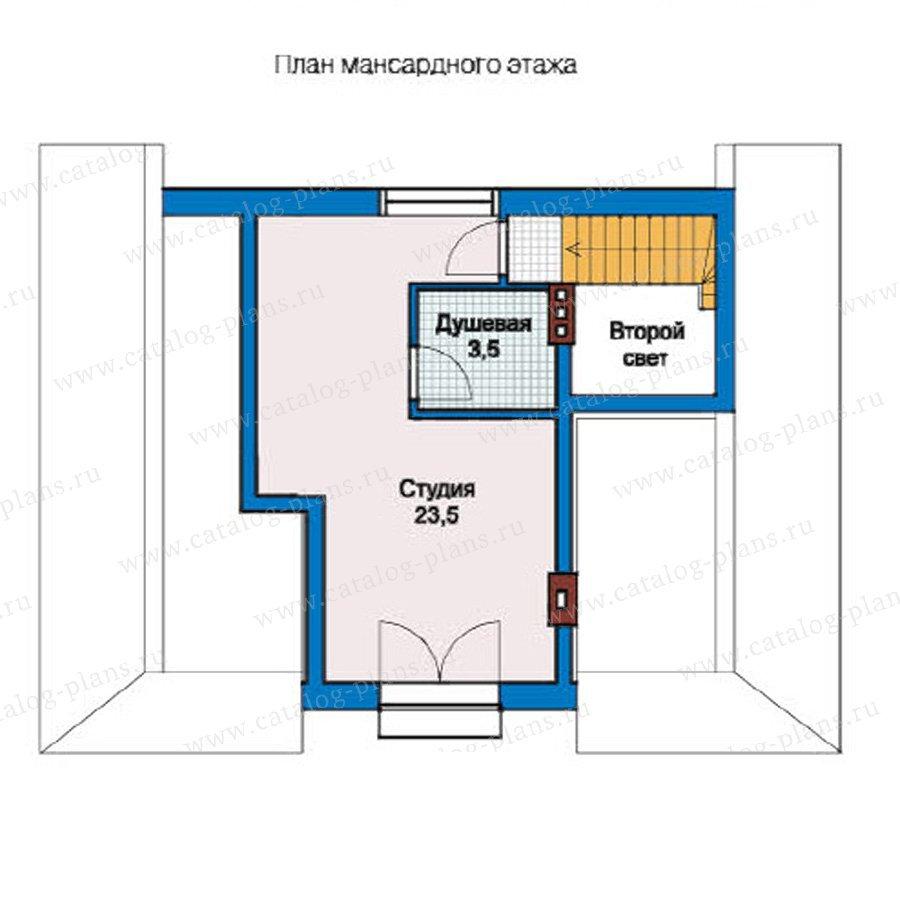План 2-этажа проекта 59-07