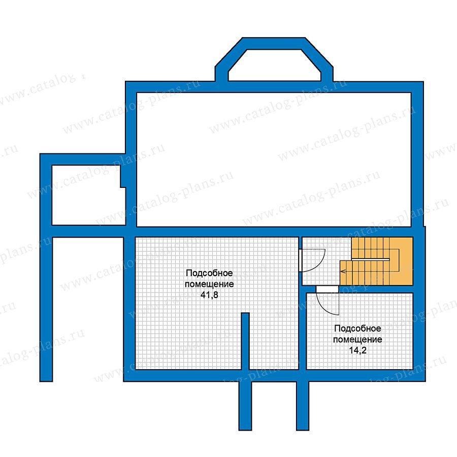 План 1-этажа проекта 59-41
