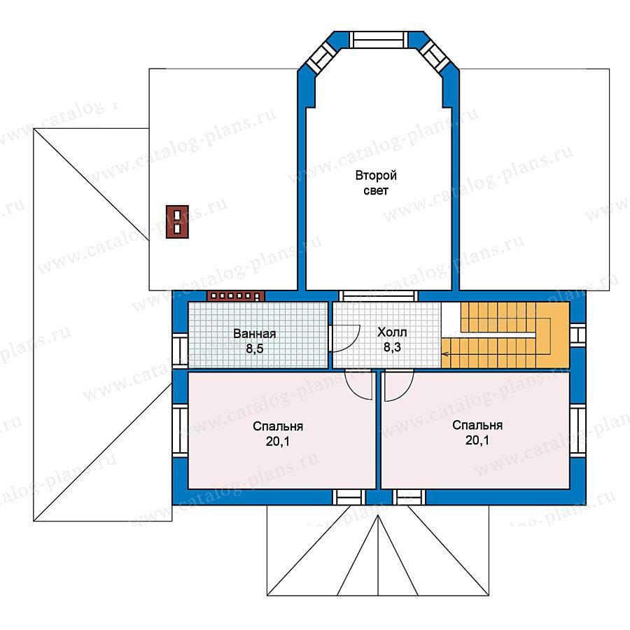 План 3-этажа проекта 59-41
