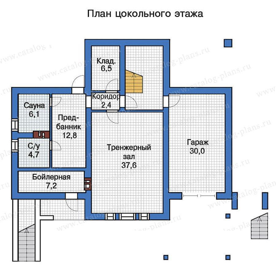План 1-этажа проекта 57-28K