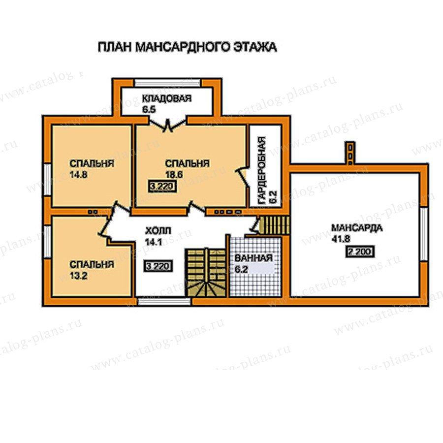 План 2-этажа проекта 59-56