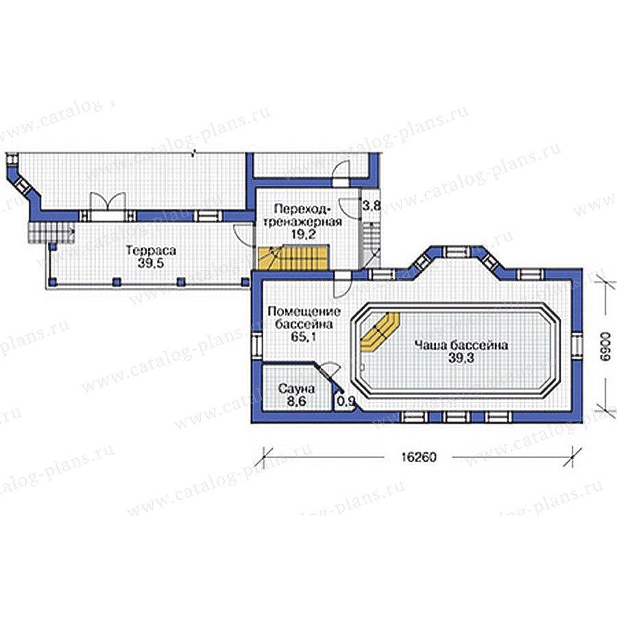 План 2-этажа проекта 37-64