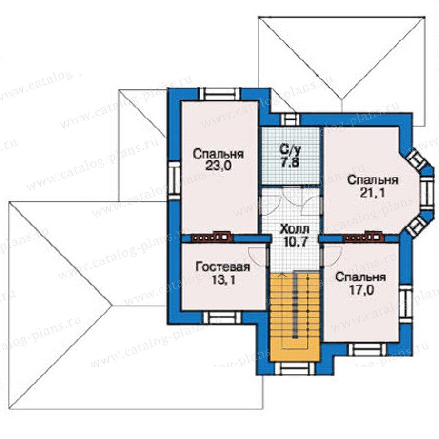 План 3-этажа проекта 37-99