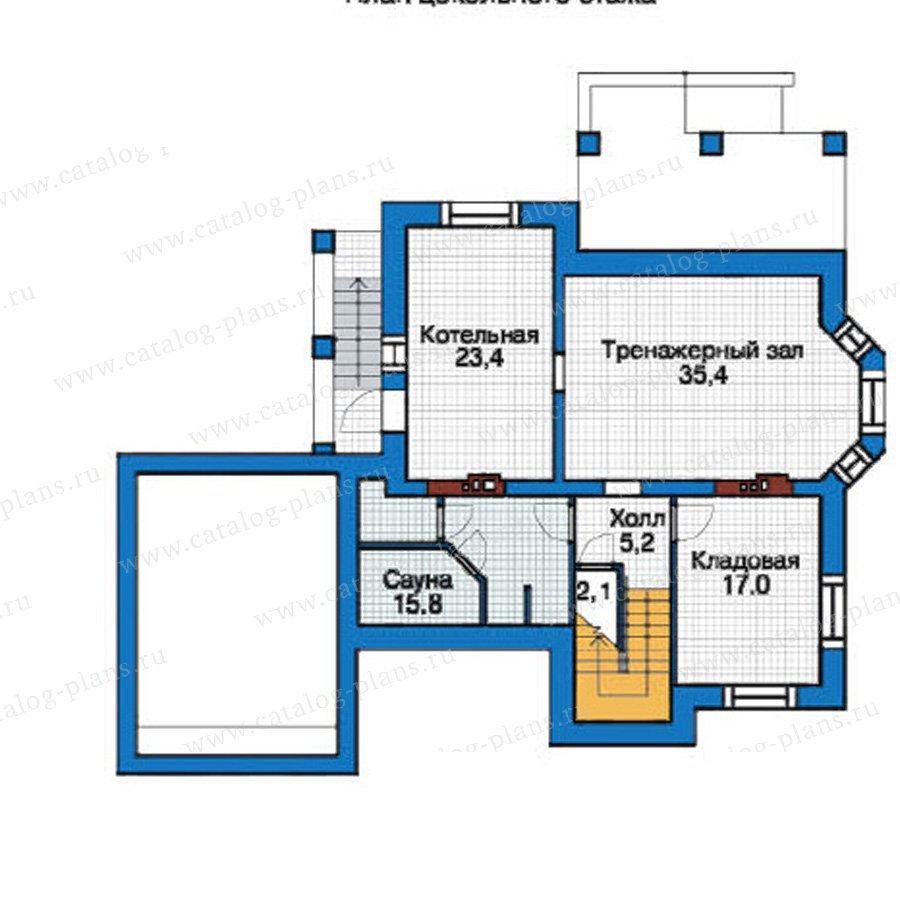 План 1-этажа проекта 37-99