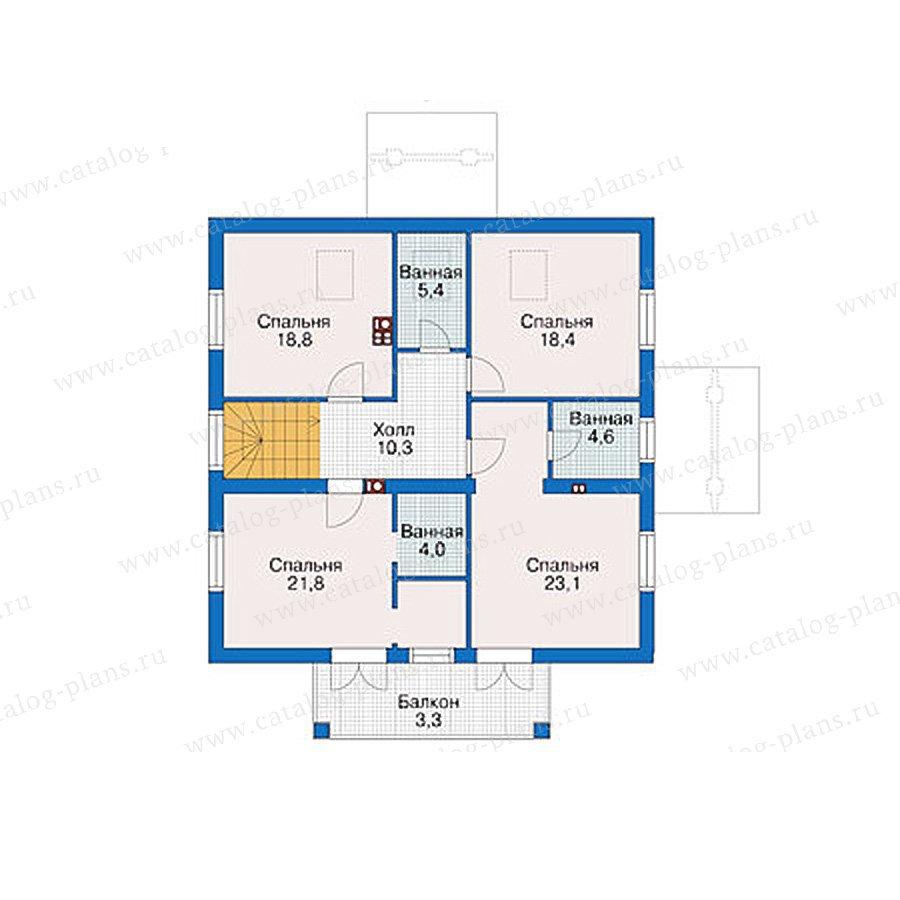План 2-этажа проекта 38-94