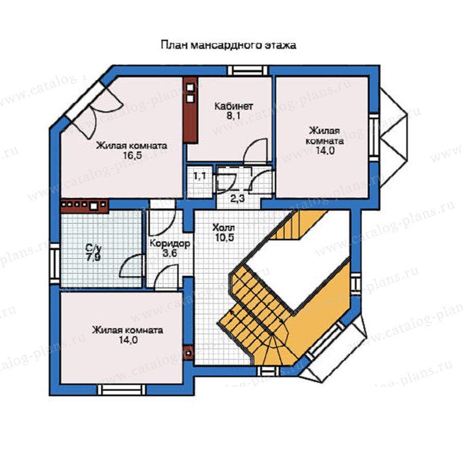 План 2-этажа проекта 37-59