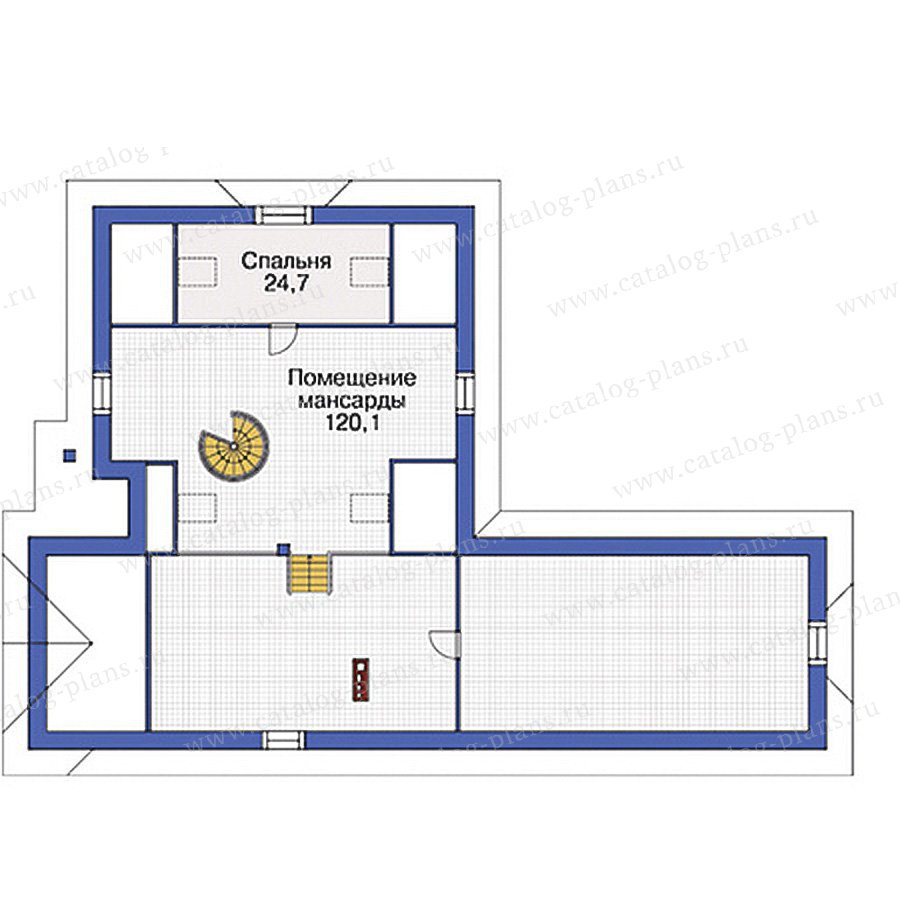 План 2-этажа проекта 37-44