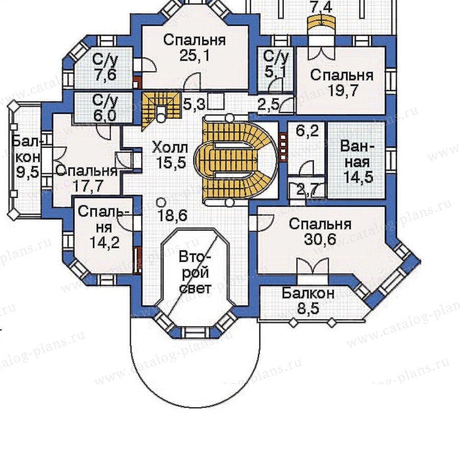 План 3-этажа проекта 36-06