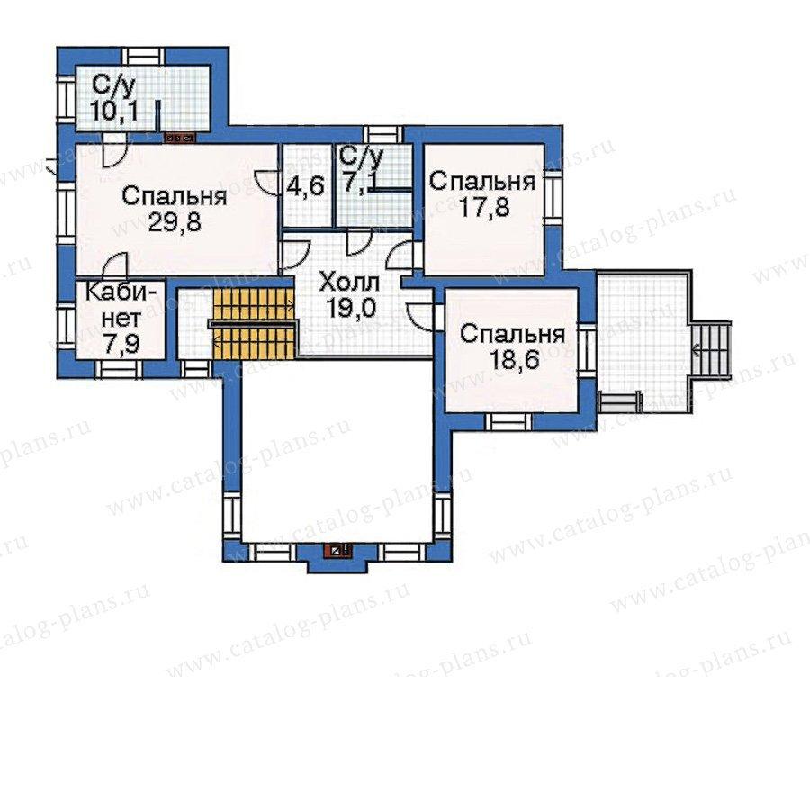 План 3-этажа проекта 36-02