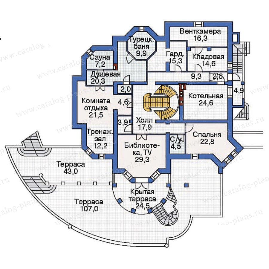План 1-этажа проекта 36-06