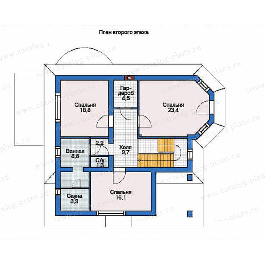 План 2-этажа проекта 36-30