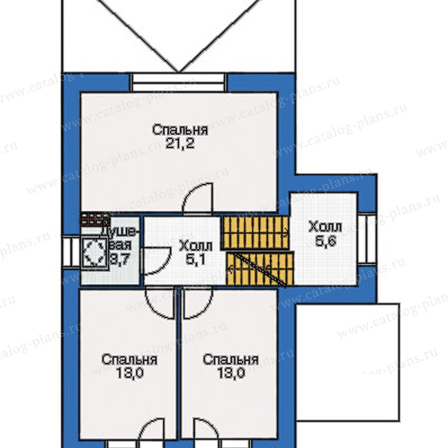 План 3-этажа проекта 36-69