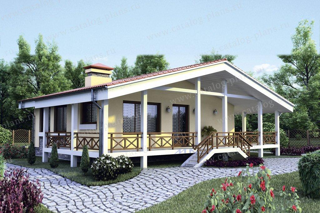 Проект жилой дом #35-40 материал - кирпич, стиль скандинавский