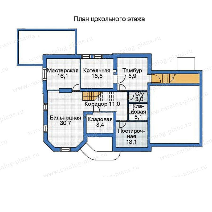 План 1-этажа проекта 35-91