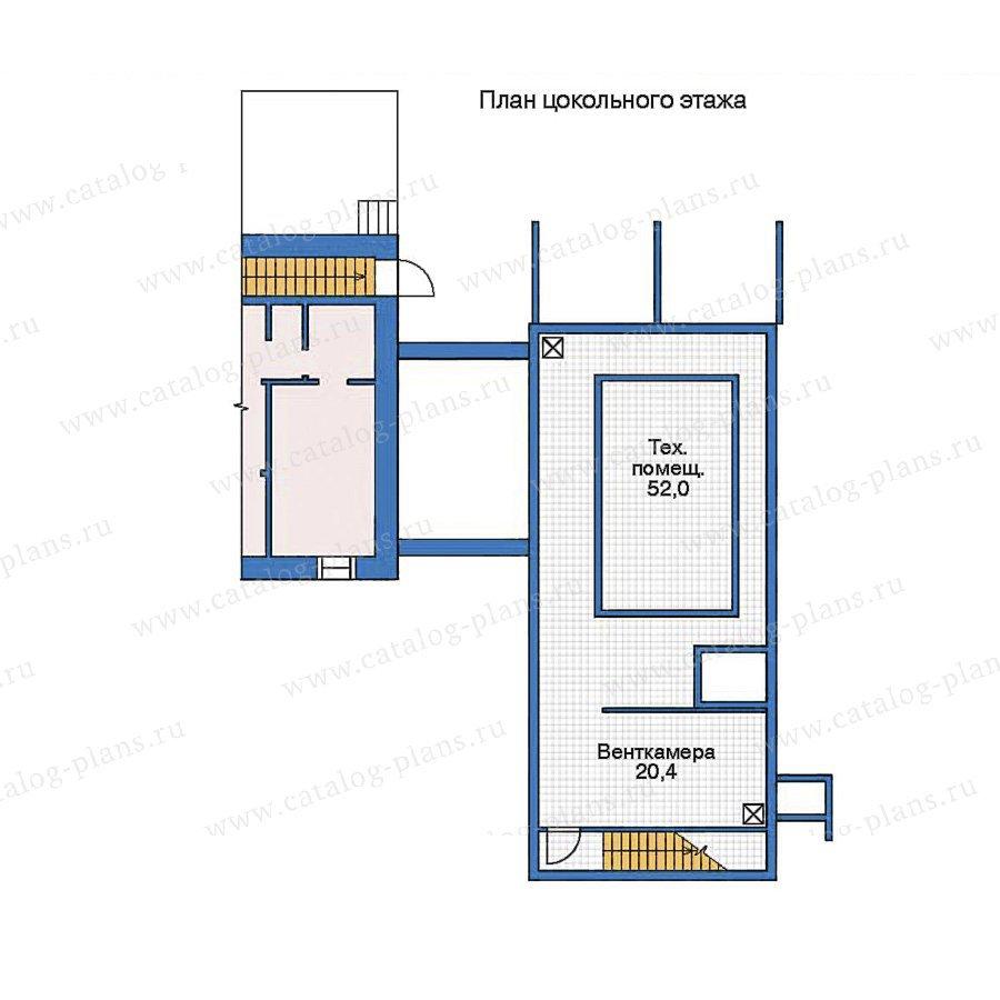 План 1-этажа проекта 35-99