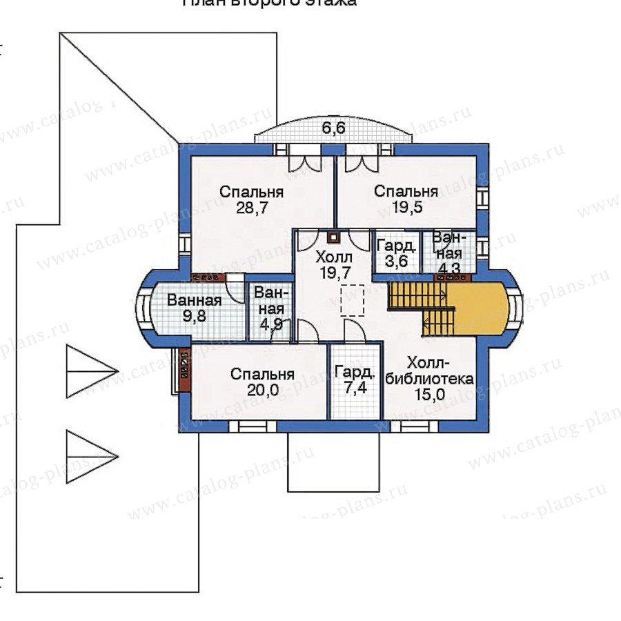 План 3-этажа проекта 35-64