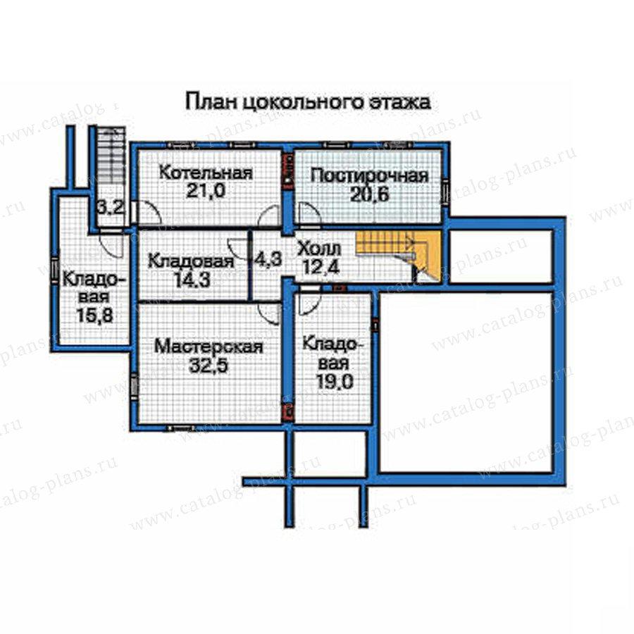 План 1-этажа проекта 35-82