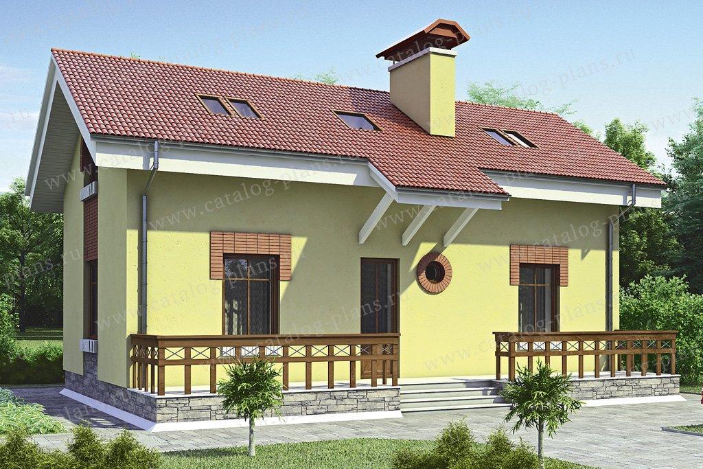 Проект жилой дом #35-39 материал - кирпич, стиль европейский