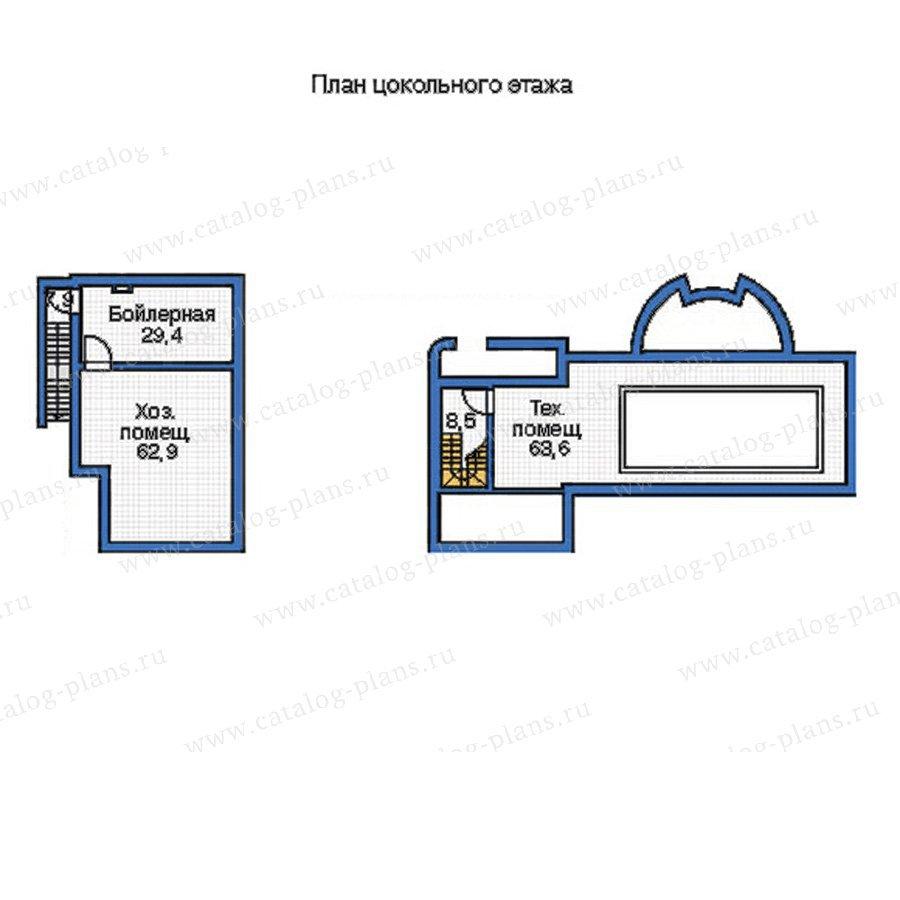План 1-этажа проекта 35-79