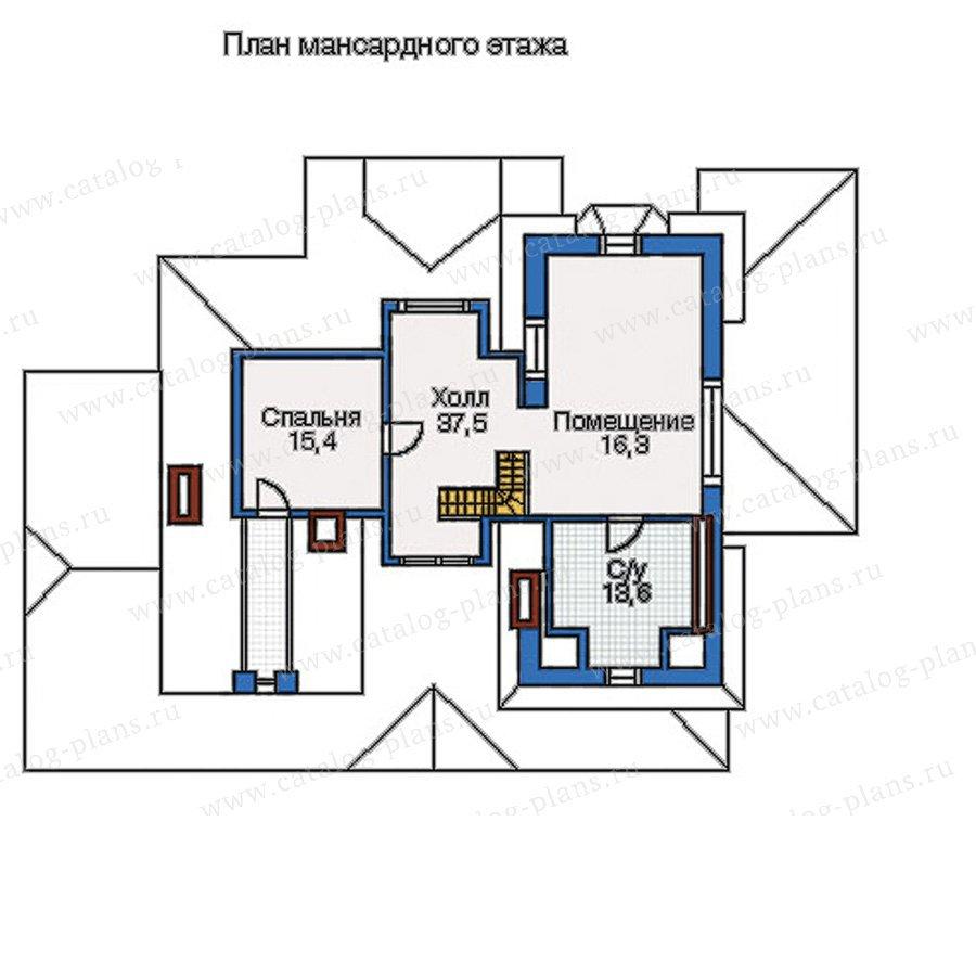 План 3-этажа проекта 35-10