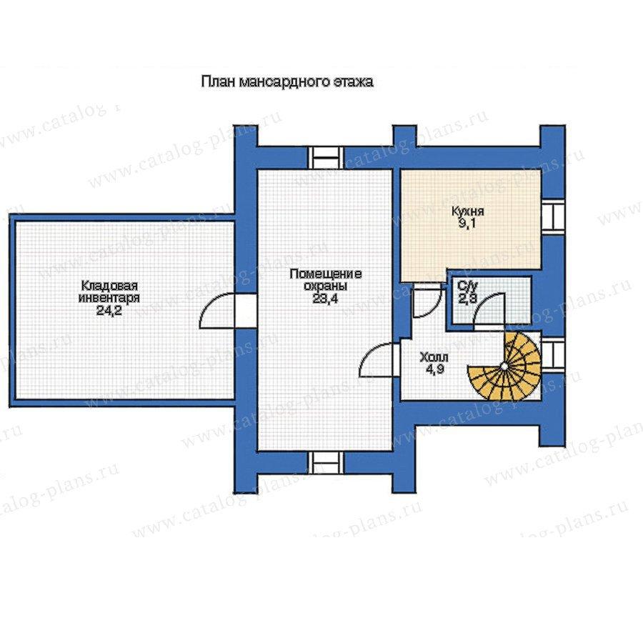 План 2-этажа проекта 35-66
