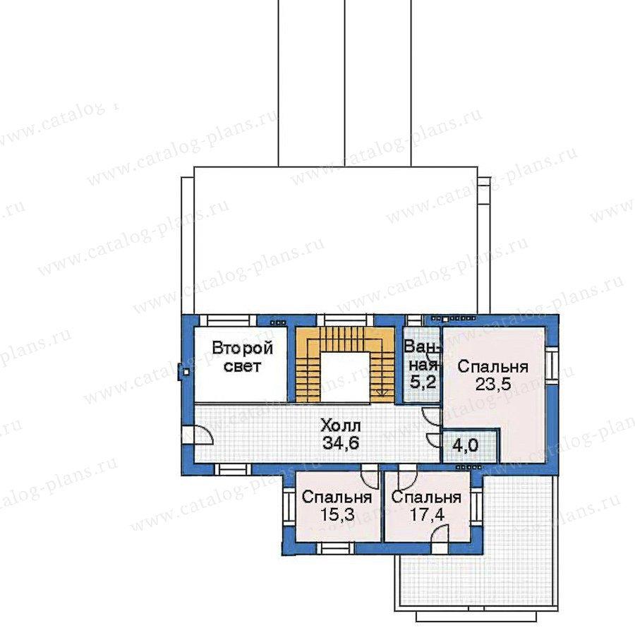 План 3-этажа проекта 35-67