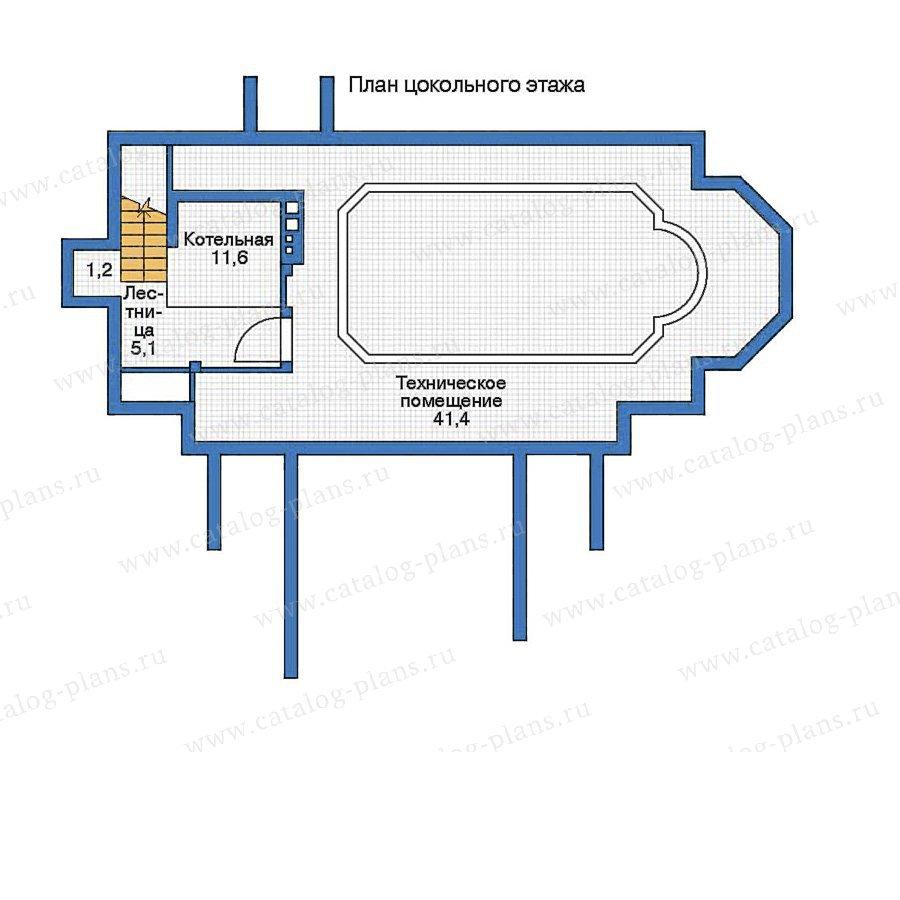 План 1-этажа проекта 35-92