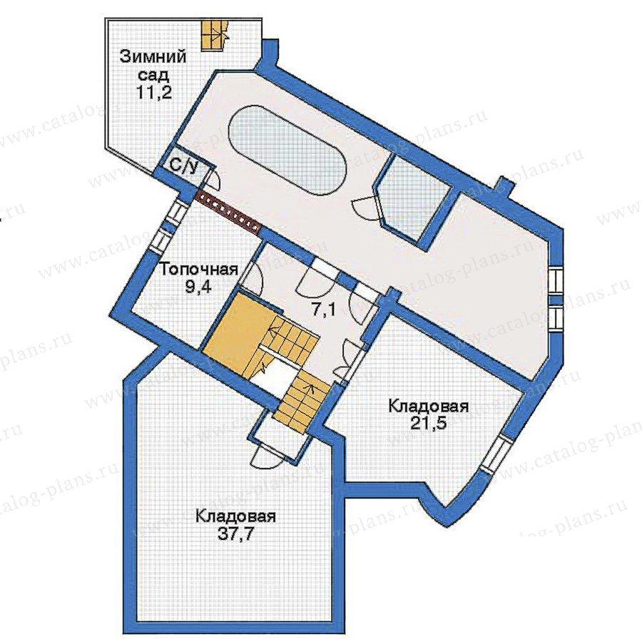 План 1-этажа проекта 34-37