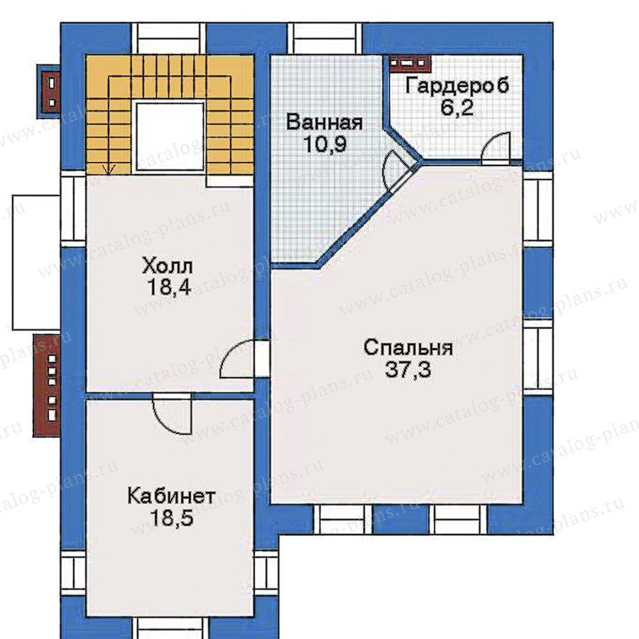 План 3-этажа проекта 34-84