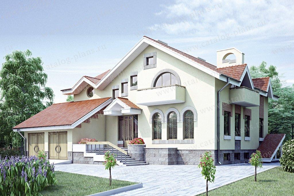 Проект жилой дом #34-88 материал - кирпич, стиль современный