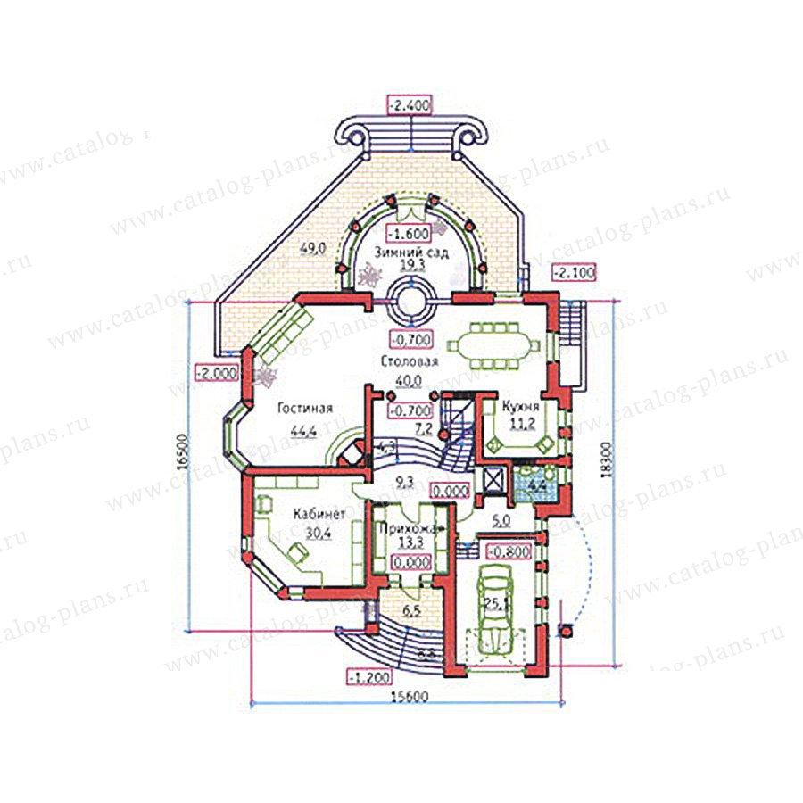 План 2-этажа проекта 34-21