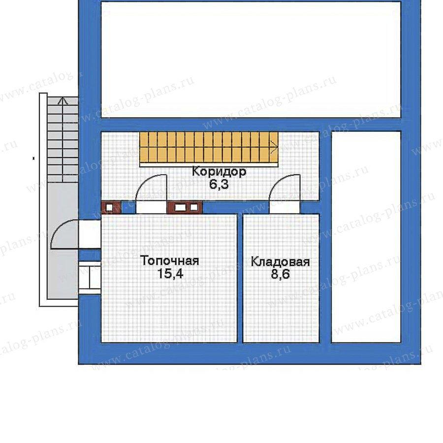 План 1-этажа проекта 34-61