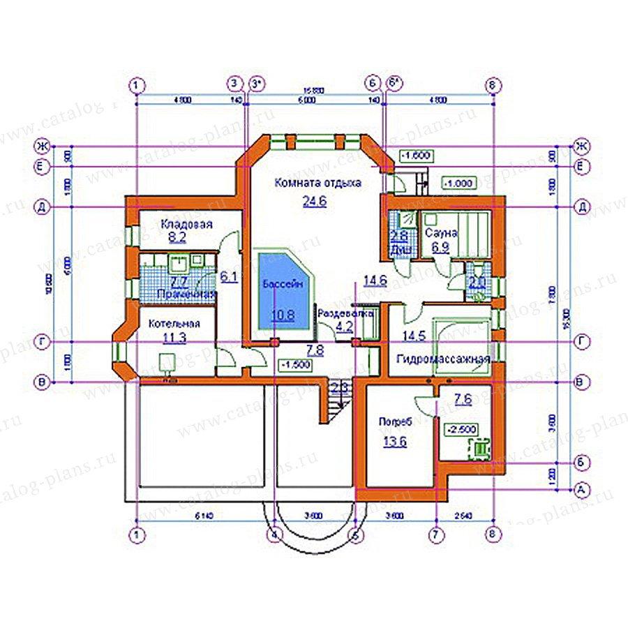 План 3-этажа проекта 34-09