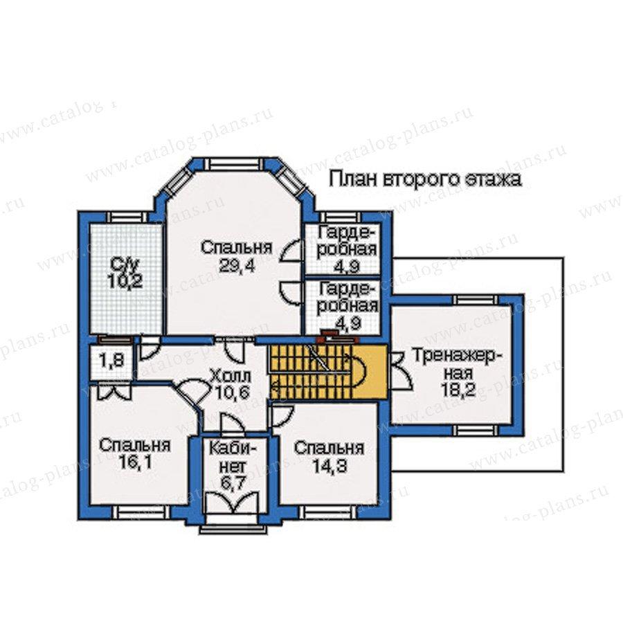 План 3-этажа проекта 34-67