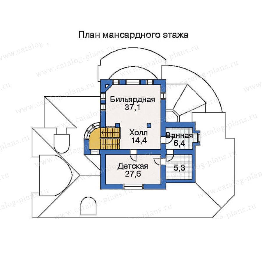 План 4-этажа проекта 33-76