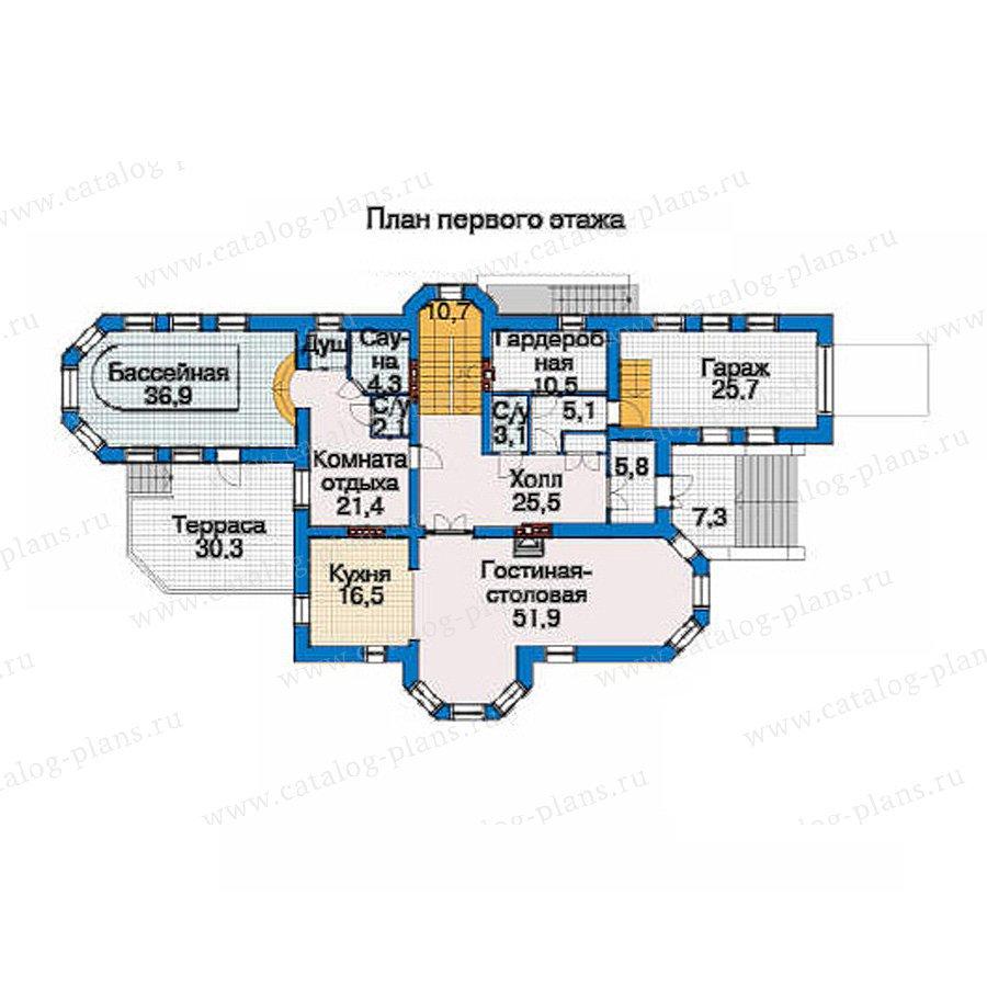 План 2-этажа проекта 33-50