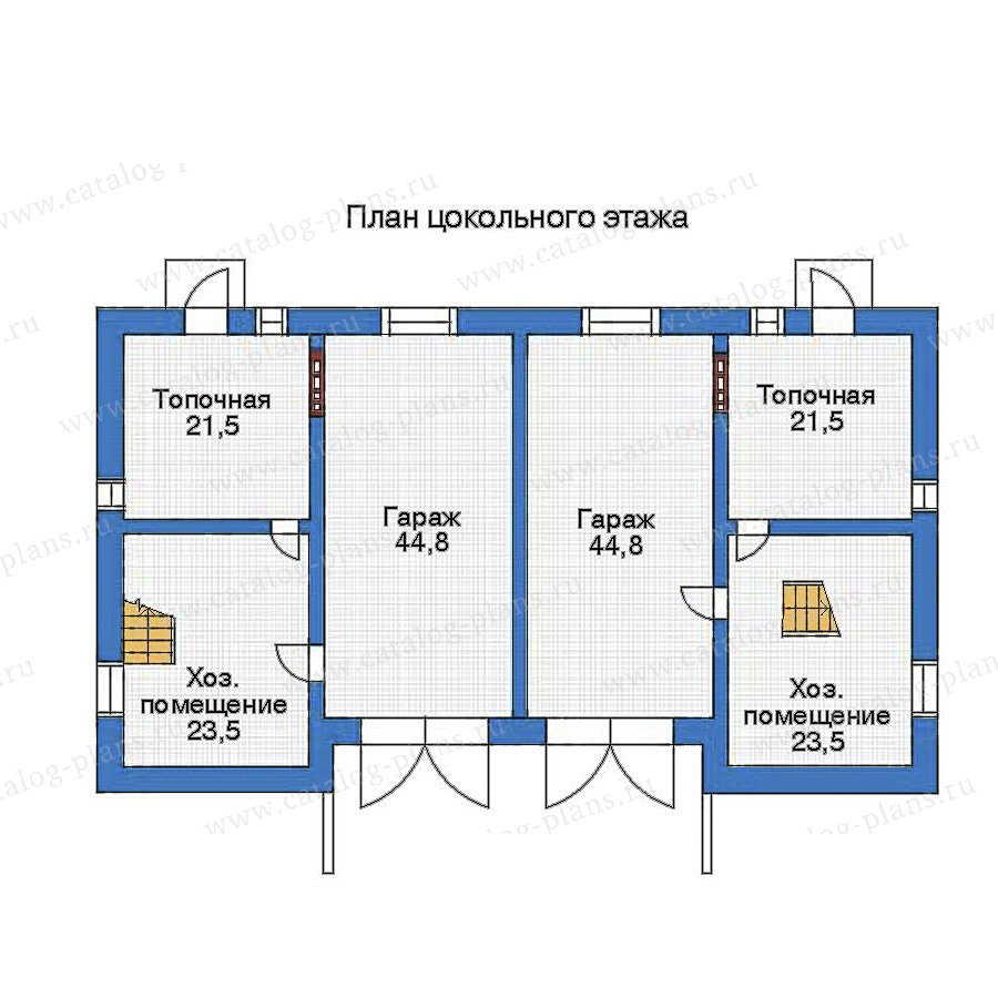 План 1-этажа проекта 33-03