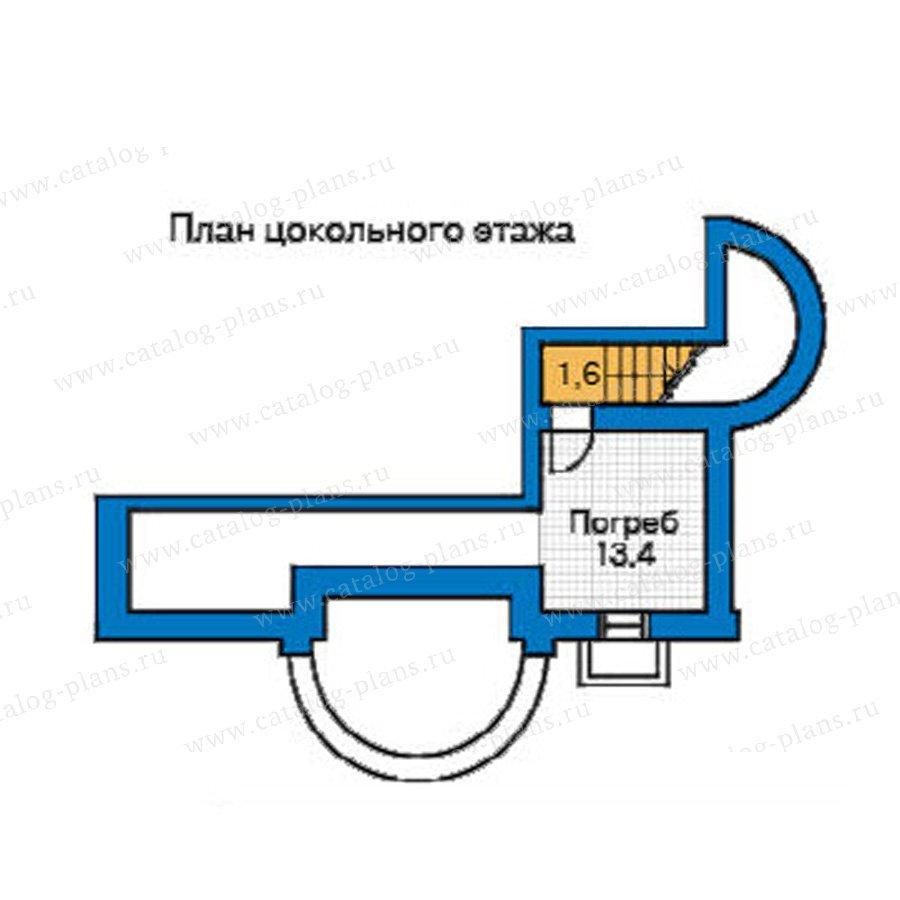 План 1-этажа проекта 33-95