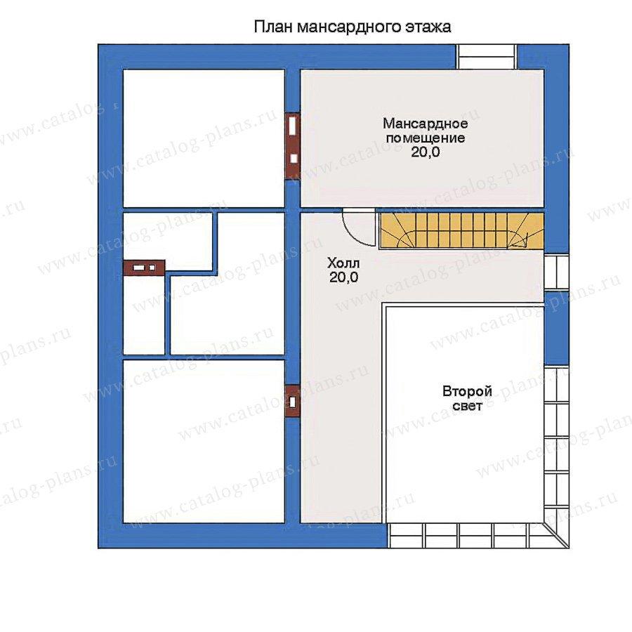 План 2-этажа проекта 33-04
