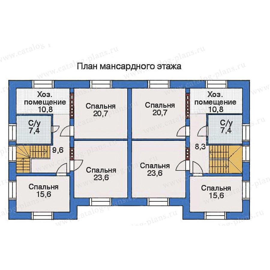 План 3-этажа проекта 33-03