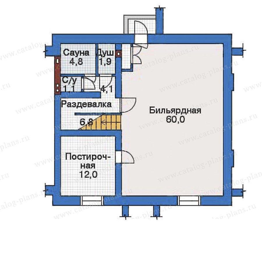 План 1-этажа проекта 33-46