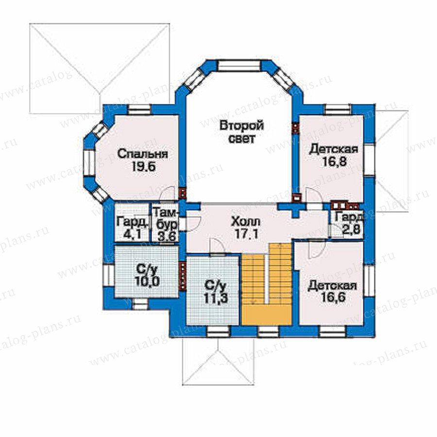 План 3-этажа проекта 33-52