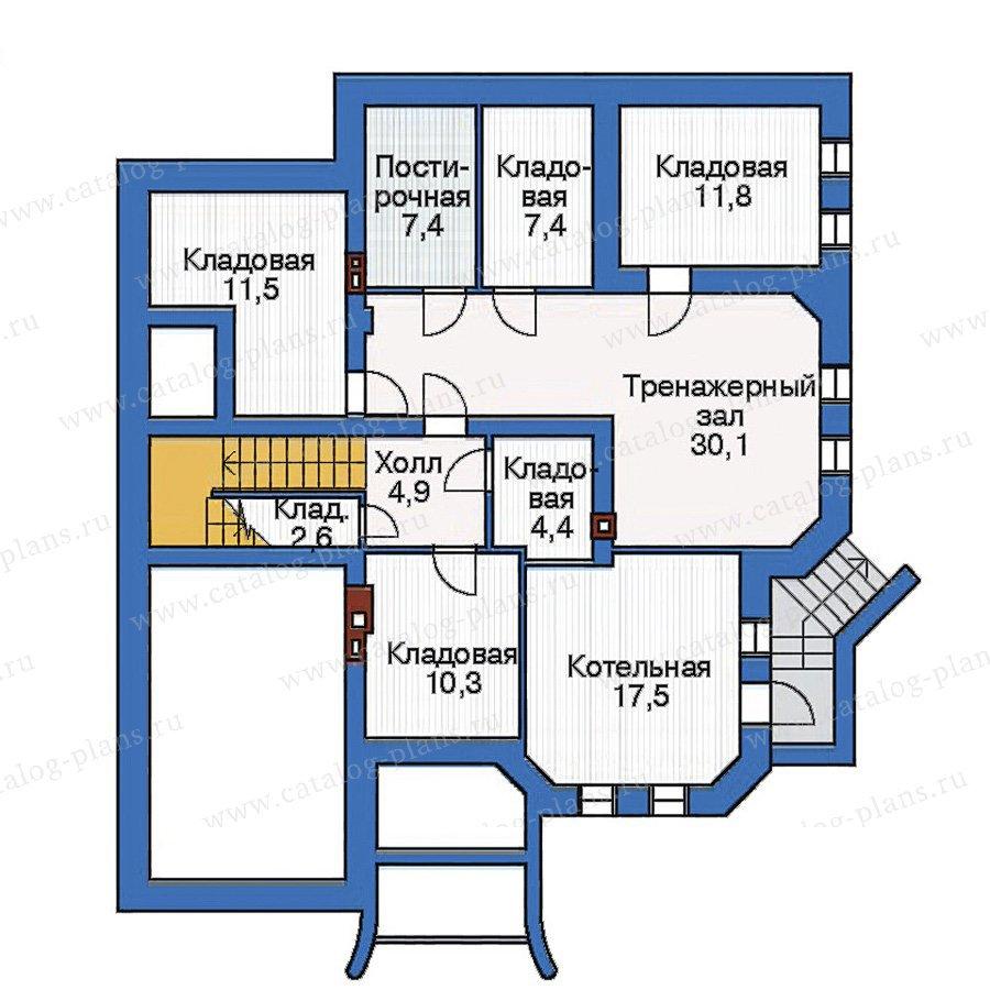План 1-этажа проекта 33-42
