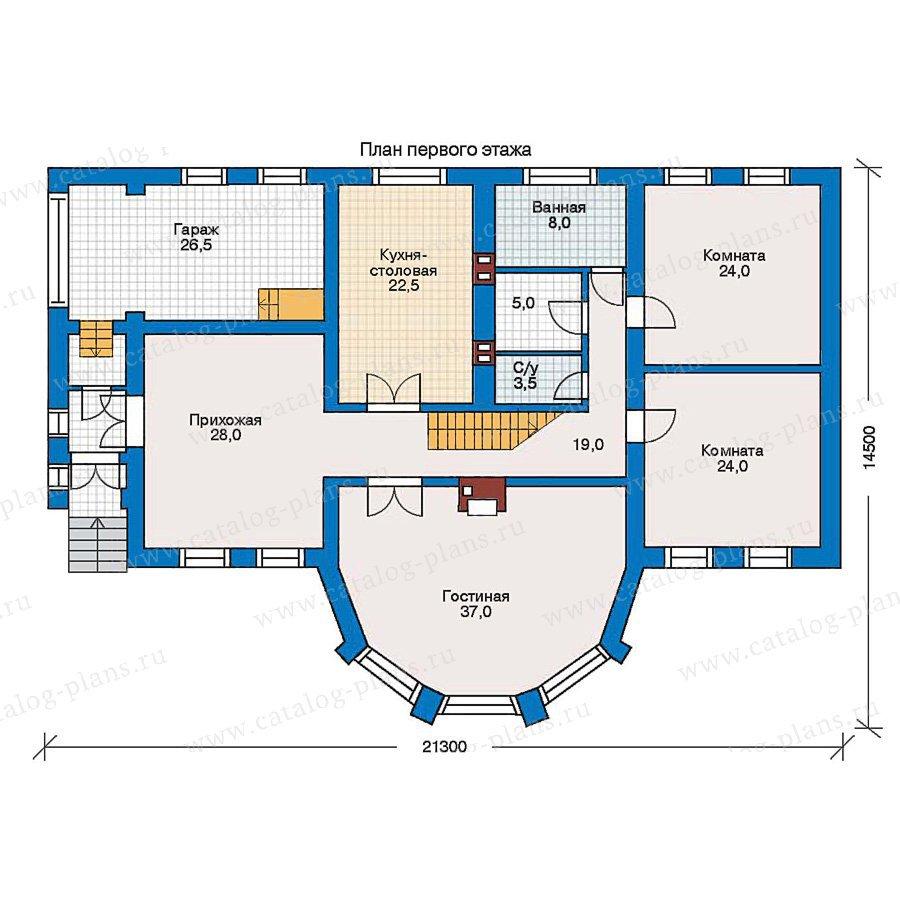 План 1-этажа проекта 30-49