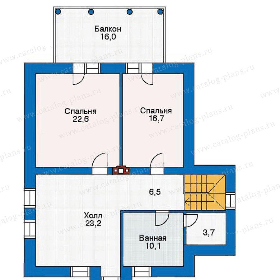 План 3-этажа проекта 30-46