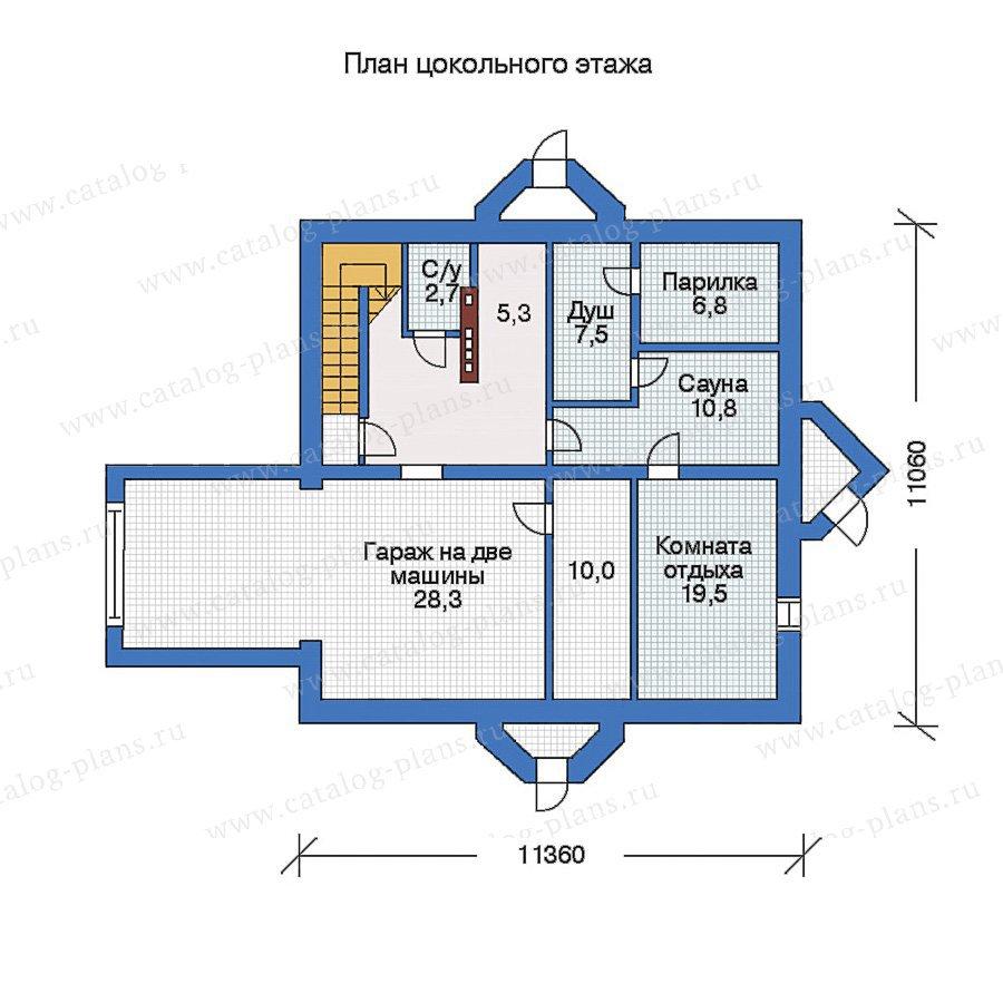 План 1-этажа проекта 31-00