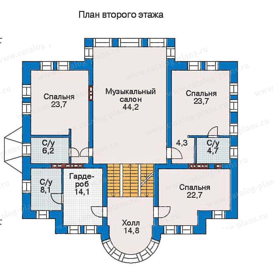 План 3-этажа проекта 30-88