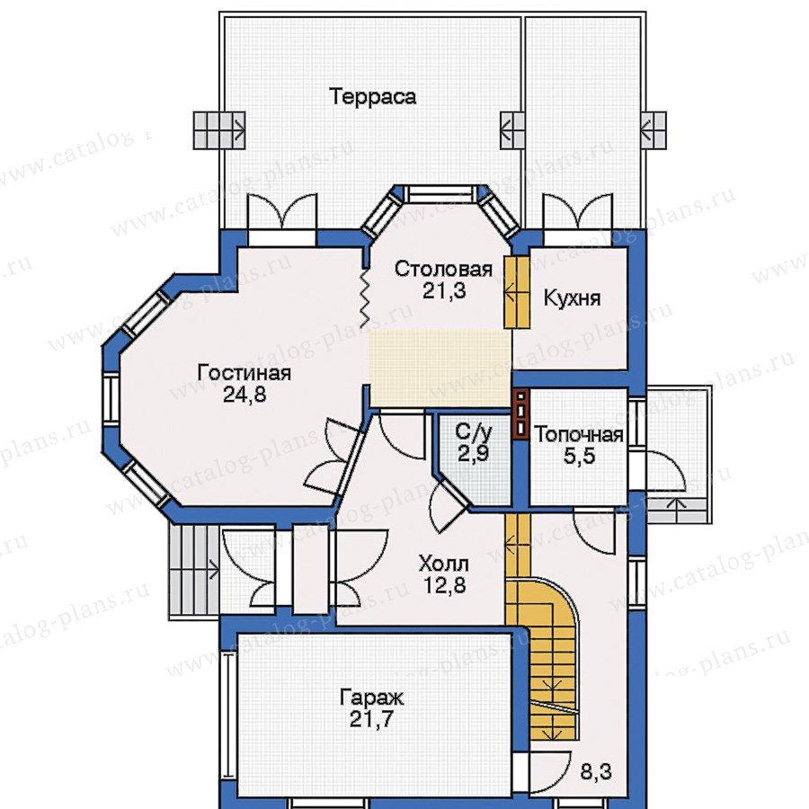 План 2-этажа проекта 31-65