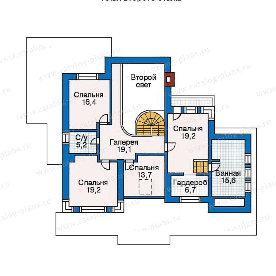 План 3-этажа проекта 30-56