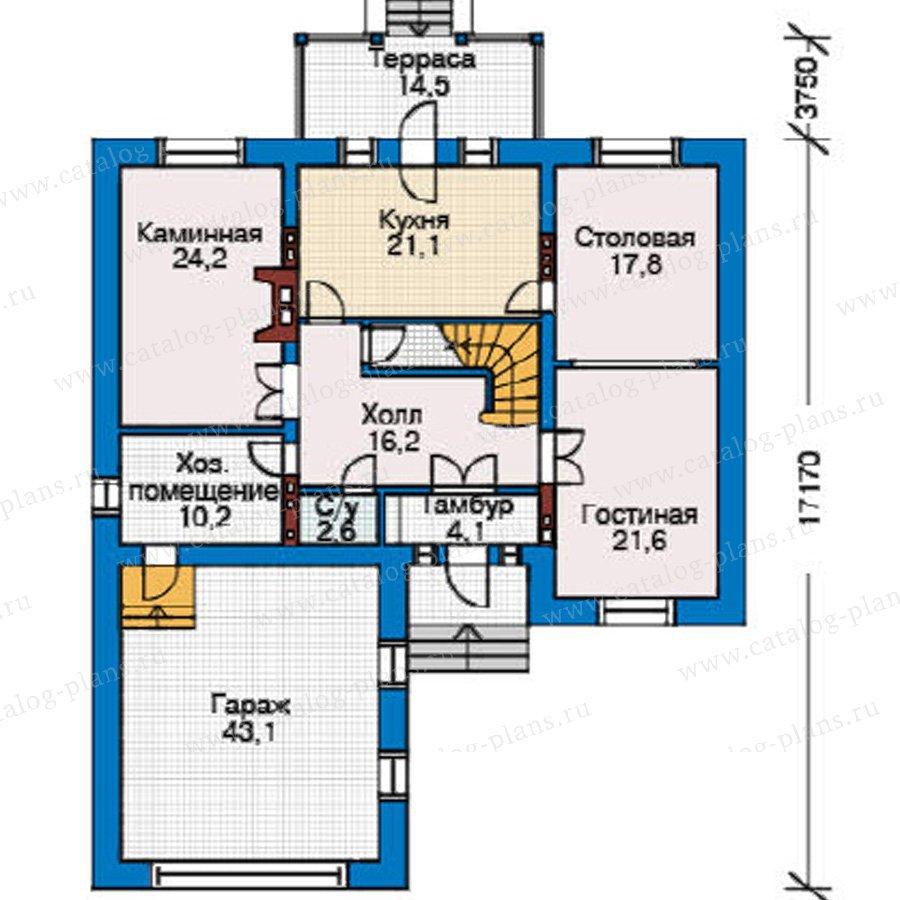 План 2-этажа проекта 31-39